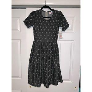 Lularoe Amelia Zipper Dress Small